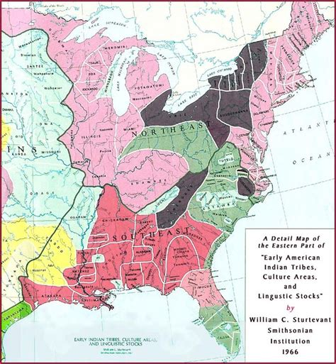 america map american tribes american indian tribes on american