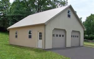 pole building garages garage builders in pa