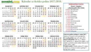 skolski kalendar  vijesti vjeronaucni portal