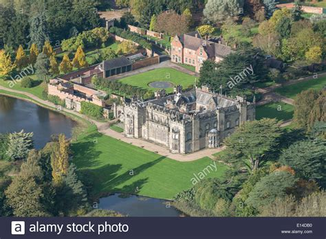 buy house in nuneaton an aerial view of arbury hall a stately home near nuneaton in stock photo royalty
