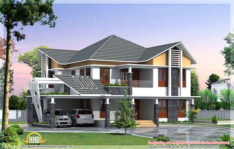 houses styles 7 beautiful kerala style house elevations kerala home