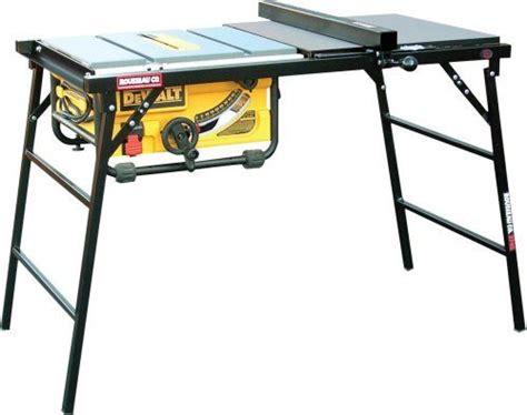 dewalt 745 table saw rousseau 2745 portamax table saw stand for dewalt dw745