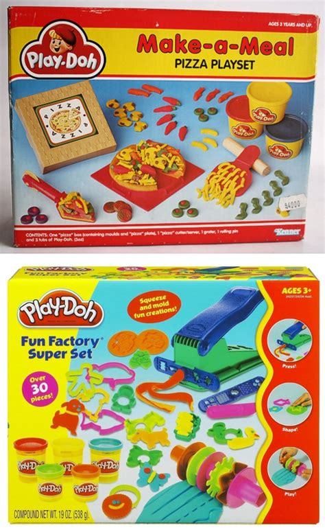 Play Doh Pizza Set five classic timeless toys that are still around today