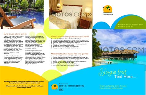 hotel brochure design templates future various templates