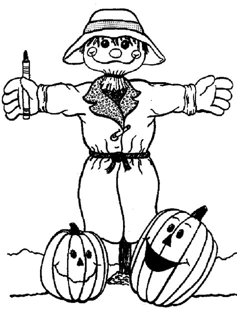 scarecrow coloring page pdf halloween scarecrow coloring pages free halloween coloring