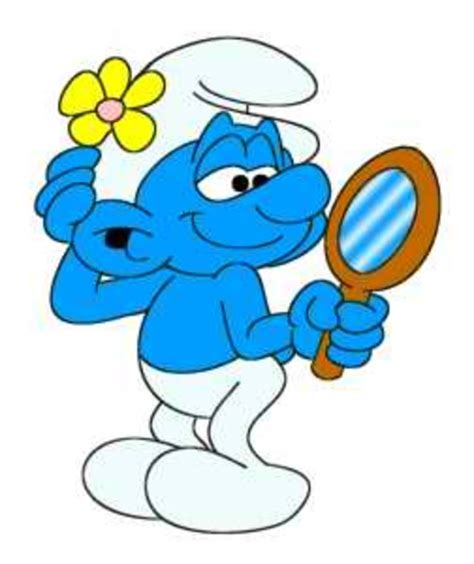 Vanity The Smurf by Vanity Smurf Free Images At Clker Vector Clip Royalty Free Domain