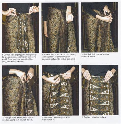 tutorial kain batik paola tambunan tutorial memakai kain batik hanya dengan dililit saja tak