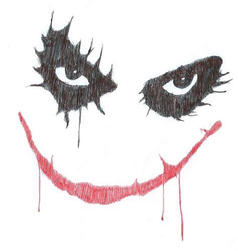 imagenes joker para dibujar joker heath ledger dibujo a boligrafo