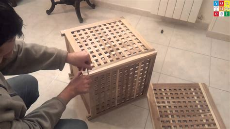 ikea hol side table  difficoult assembly ahahah youtube