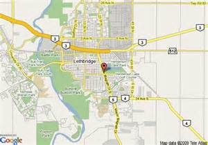 map lethbridge alberta canada map of canadas best value inn lethbridge alberta lethbridge