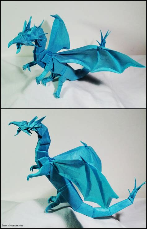 Origami Western Diagram - origami western by lexar on deviantart