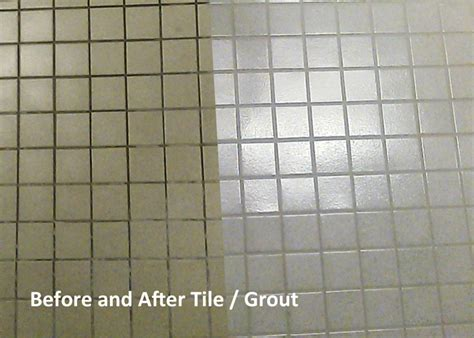 Grout Cleaning Before And After Increase Profits With Drymaster Tilex Tile Grout Cleaning Drymaster Systems Inc