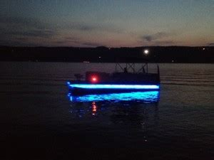 installing led boat deck lights pontoon underdeck lights boat wiring easy to install