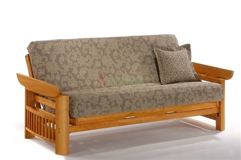 futon mattress and day portofino futon sofabed honey oak