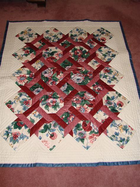 quilt pattern garden twist 71 best garden twist quilt images on pinterest