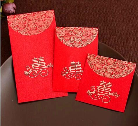 china traditional wedding favor chinese red packet