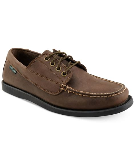 eastland shoes eastland eastland falmouth boat shoes in brown for lyst