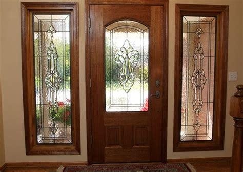 Leaded Glass Front Door Inserts Decorative Leaded Glass Door Inserts Choosing Tips Home Doors Design Inspiration Doorsmagz