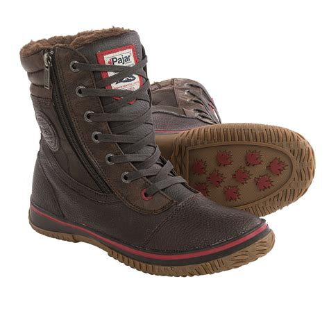 pajar tour boot pajar tour leather snow boots for 8887x save 85