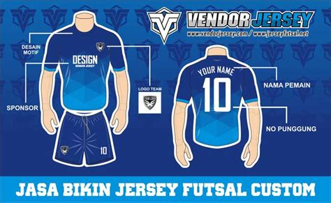 Kaos Sablon Desain Custom pesan kaos futsal desain custom vendor jersey