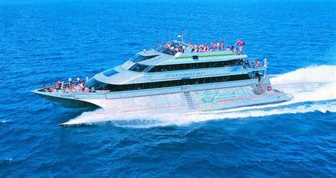 quicksilver boat port douglas cairns attractions quicksilver reef trip port douglas