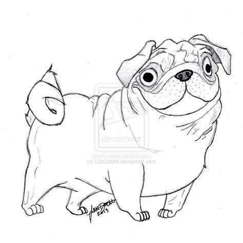 pug colouring pages pin pugs coloring pages on