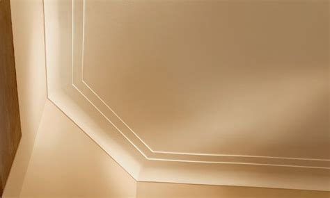 modern molding and trim modern crown molding idea lape family room pinterest