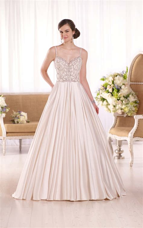 Wedding Dresses Australia by Luxe Satin Bridal Gown I Essense Of Australia