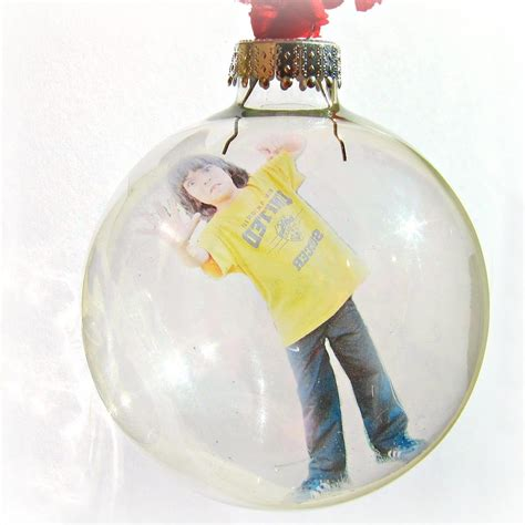 photo ornaments make a personalized floating photo ornament morena s corner