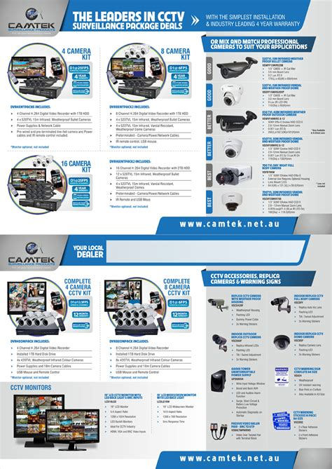 leaflet design for cctv flyer design for robert by theziners design 4246774