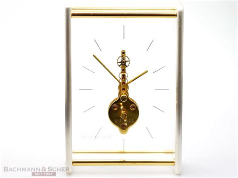 jaeger lecoultre table clock jaeger lecoultre table clock framework movement bj 1980
