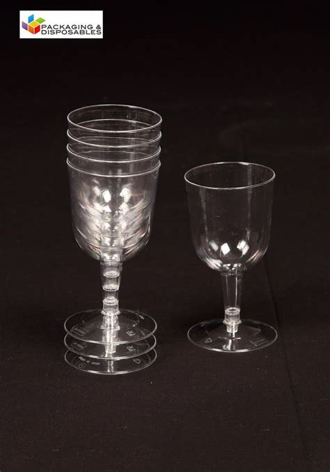 Wine Glass L Shades Ebay by 120 Clear Plastic Wine Glasses Ebay