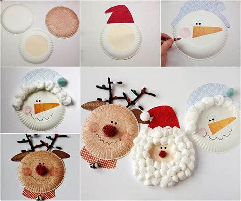 diy decorations using paper plates paper plate characters diy tutorial beesdiy