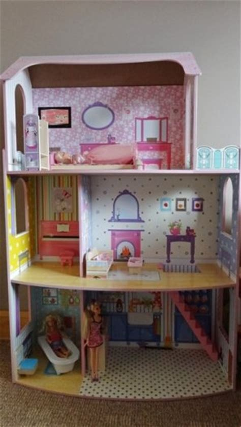 chad valley dolls house furniture dolls house chad valley glamour mansion 4 barbies accessories for sale in adamstown