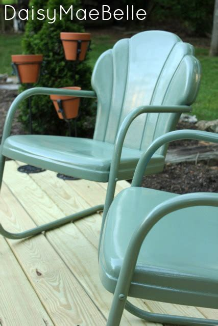 Spray Paint Metal Chairs by Diy Favorites And Features Fox Hollow Cottage
