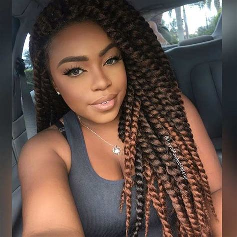 hair styles for crochet two finger twist 31 stunning crochet twist hairstyles page 3 of 3 stayglam