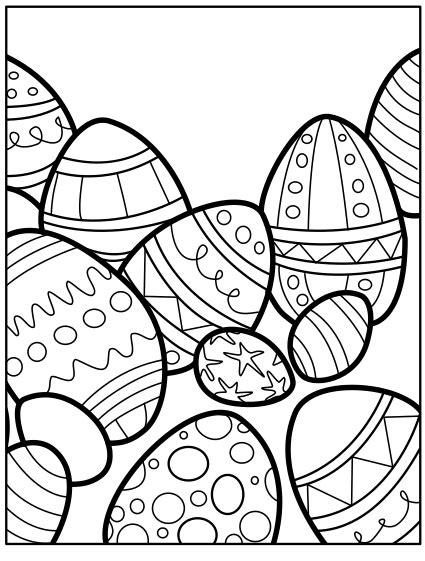 easter coloring pages   coloring page