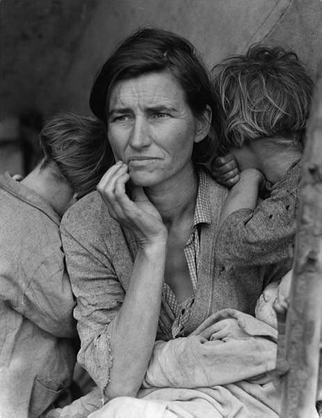 the depression era photography of dorothea lange kuriositas