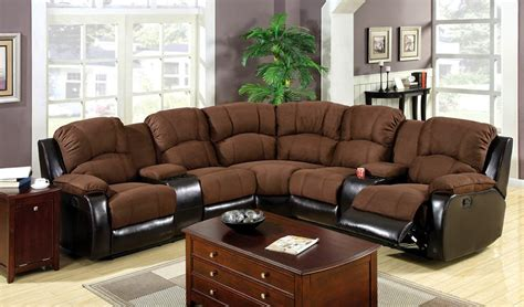 Leather Sectionals With Chaise And Recliner by Sofa Recliner Reviews Microfiber Recliner Sectional Sofa Chaise