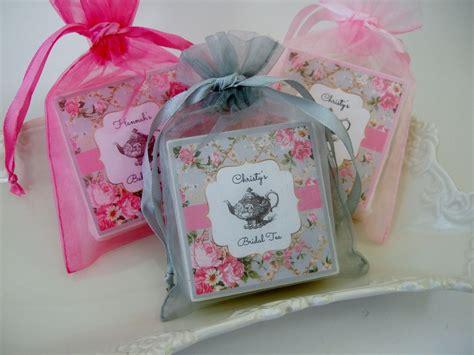 bridal shower favors tea tea bridal shower favors baby shower favors set of