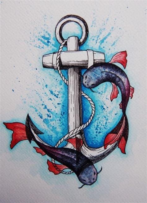 anker tattoo ideen und ihre symbolik wohnideen und