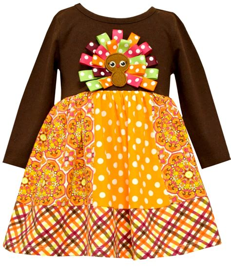 thanksgiving baby dress in fashion