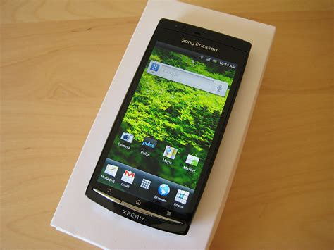 Hp Android Sony Ericsson Xperia Arc sony ericsson xperia arc review android central