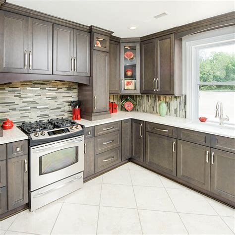 gray wood kitchen cabinets kitchen gray stained kitchen cabinets grey kitchen