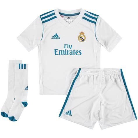 Miniatur Real Madrid Bis real madrid heimtrikot 2017 18 mini kit kinder www unisportstore de