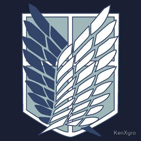 T Shirt Animeshingeki No Kyojin Traning Corps shingeki no kyojin attack on titan survey corps logo symbol styles colour