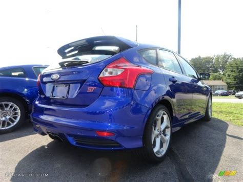 St Blue ford focus st blue recaro