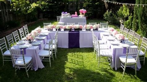 modern backyard backyard wedding ideas on a budget
