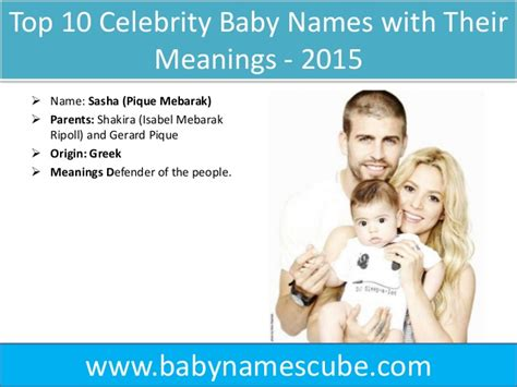 celebrity name meaning top 10 celebrity baby names with their meanings 2015