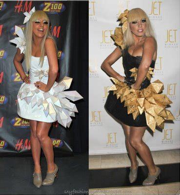 Gaga Origami Dress - gaga origami dress